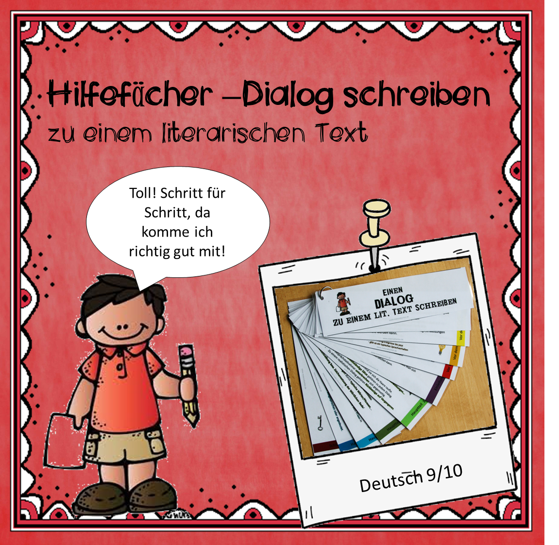 Hilfefächer Dialog Deckblatt