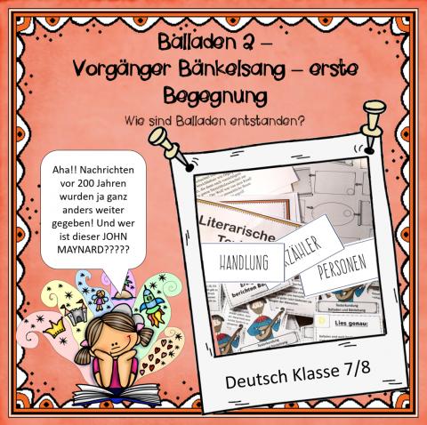 Ballade 2 Deckblatt