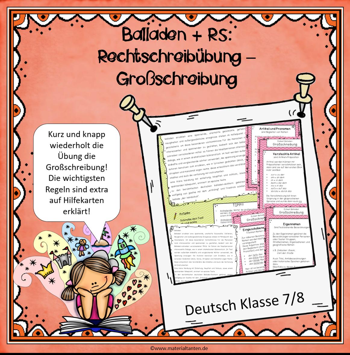 Ballade und Rechtschreibung